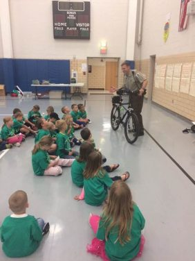 Ranger bicycle safety program Wood County Park District