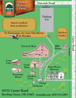 Carter Historic Farm 1930s Living History Museum map