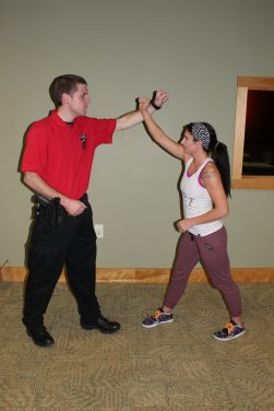 Self Defense class for women Wood County Park District