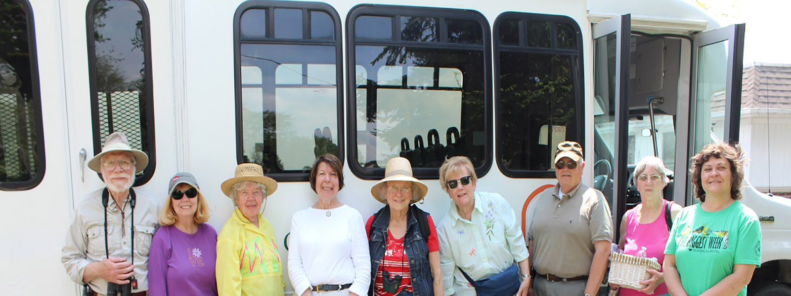 Friends bus tour Wood County Park District