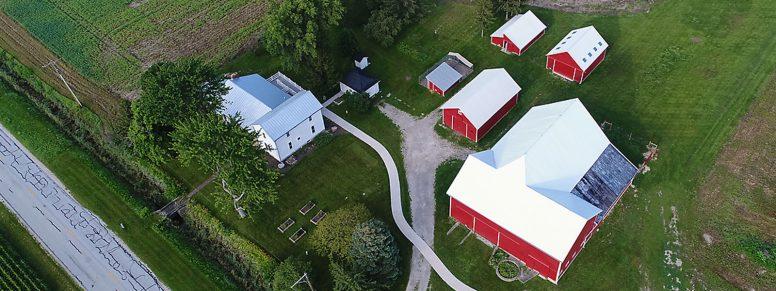 Aerial of Carter Farm