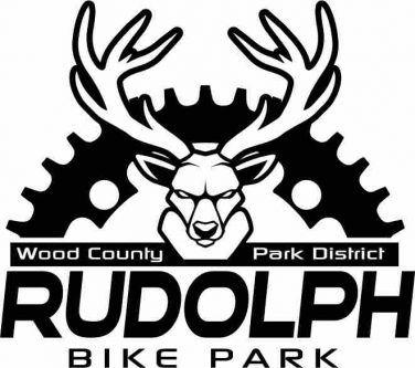 logo for the Rudolph Bike Park Wood County Park District