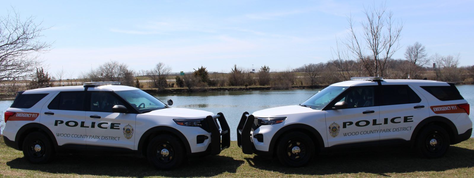 Two Park Police Vehicles